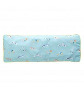 KRFTD Snuggy Beansprout Husk Pillow - Blue