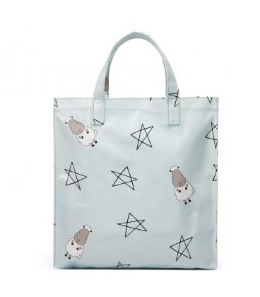 Baa Baa Sheepz Tote Bag Big Star Sheepz Blue