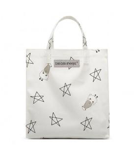 Baa Baa Sheepz Tote Bag Big Star Sheepz White