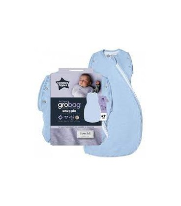 Tommee Tippee the Original Grobag Swaddle Wrap - Blue