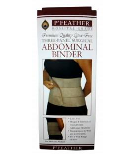 P' Feather Abdominal Binder Hospital Grade - Medium