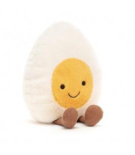 Jellycat I am Amuseable Happy Boiled Egg (Large)