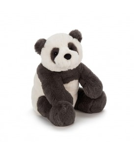 Jellycat Little Harry Panda Cab
