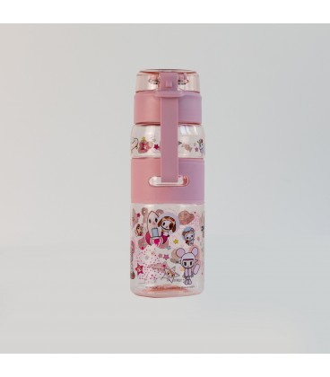 Tokidoki Drinking Bottle - Donutella Constellation (Pink)