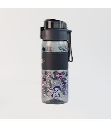 Tokidoki Drinking Bottle - Galactica Dream (Black)