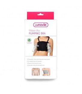 Lunavie Hands Free Pumping Bra - Black
