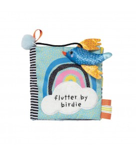 Manhattan Toys - Flutter By Birdie Soft Book