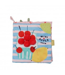 Manhattan Toys - Mini-Apple Farm Soft Book