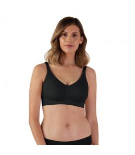 Bravado Silk Seamless Nursing Bra - Black (XL)