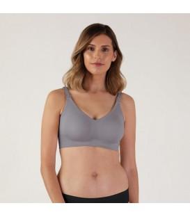 Bravado Silk Seamless Nursing Bra - Silver Belle (XL) (Sustainable)