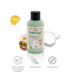Natural Botanical Baby Massage Oil 120ml