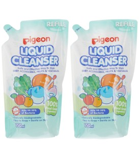 Pigeon Liquid Cleanser Refill 650ml (2 in 1)