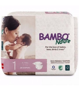 Bambo Nature Pampers Stage 1 (Newborn) 2-4 kg