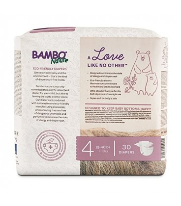Bambo Nature Pampers Stage 4 (Max) 7-18 kg