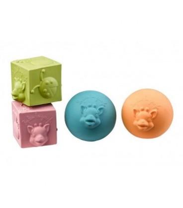 Sophie La Girafe So Pure  Balles & Cubes