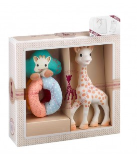 Sophie the giraffe Sophiesticated Set - Sophie + Fabric Rattle