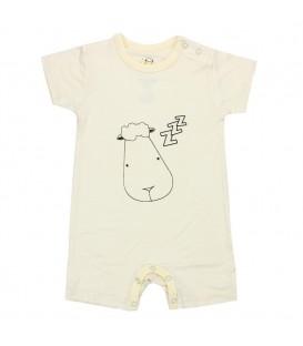 Baa Baa Sheepz - Yellow Sleepyhead Short Sleeves Romper