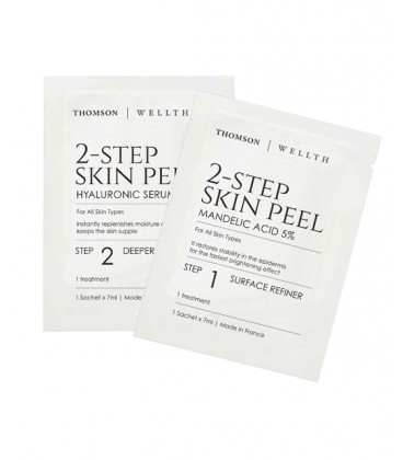 Thomson Wellth 2-Step Skin Peel (Travel Pack) - 5 sets