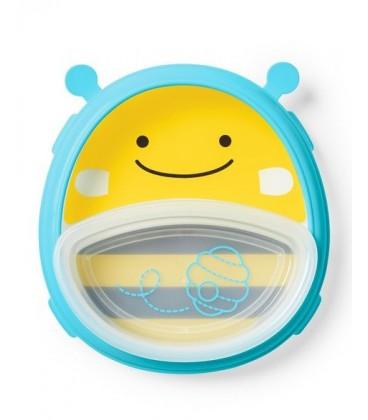 Skip Hop Zoo Smart Serve Plate & Bowl - Bee