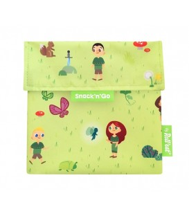 "Roll And Eat ""Snack N Go"" Pouch - Forest"