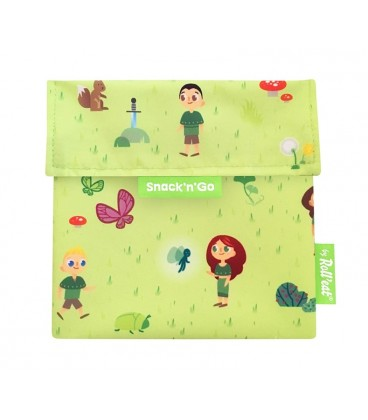 """Roll And Eat """"Snack N Go"""" Pouch - Forest"""