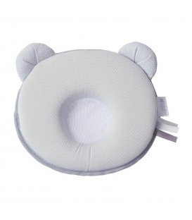 Candide P'tit Panda Air + Pillow Grey